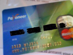 kartu payoneer yg dtg k rumah